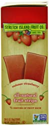 Stretch Island Fruit Leather Snacks - 32¢ per Bar SHIPPED!!