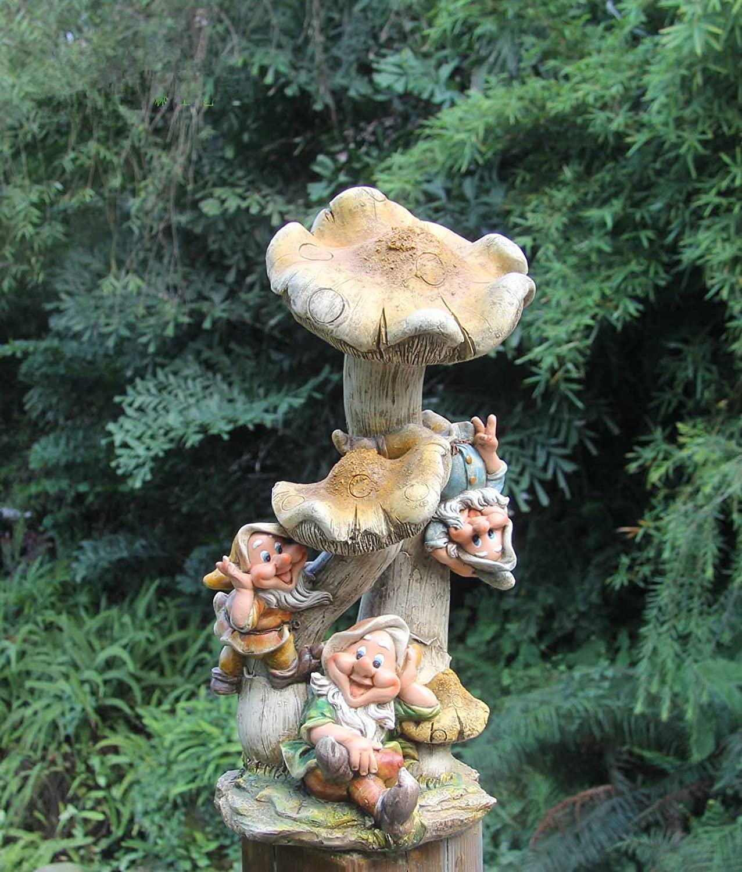 Dise o enano hongo 50cm alto figuras decorativas de jard n for Setas decorativas para jardin