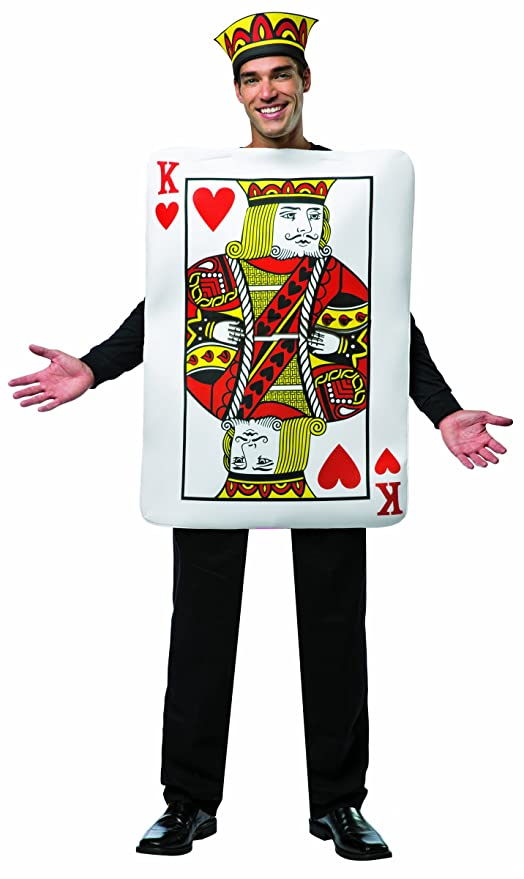 King of Hearts Costume for Men