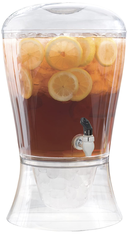 3-Gallon Beverage Dispenser Party Lemonade Punch Tea Pitcher Cool Ice Cold Summe | eBay