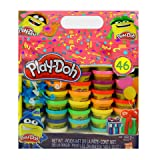 Play-Doh Bonus Color Pack 46-Pack of Colors, Assorted Colors, 1 Oz. Cans (Tamaño: Bonus Colors: 46 Cans)