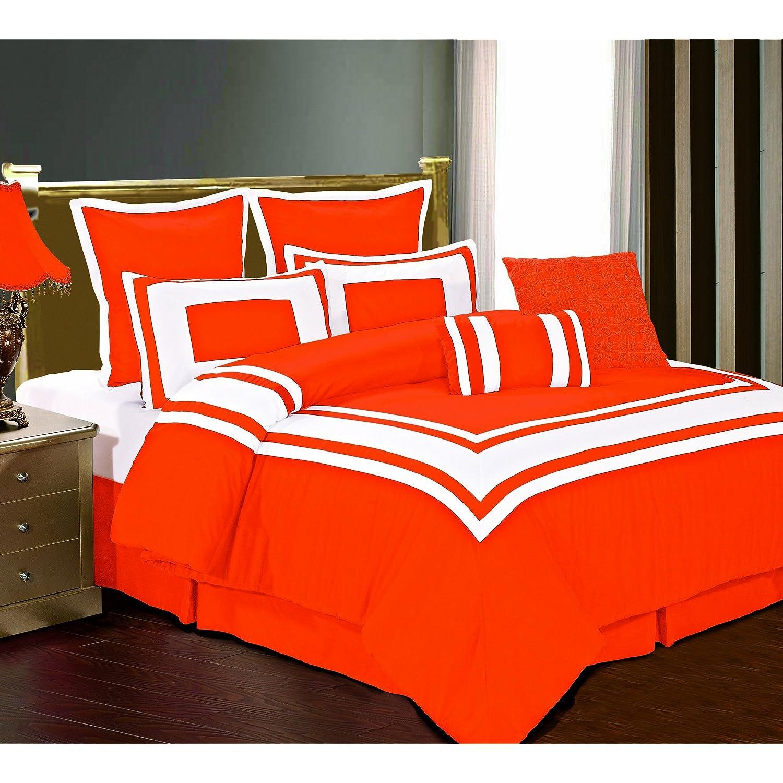 Bedding sets by color - Red and orange comforter sets ...