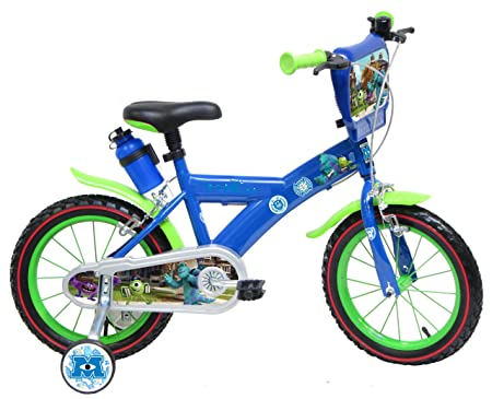"""Vélo 14"""" Disney Monsters University officiel"""
