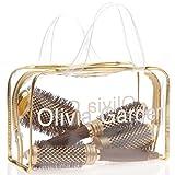 Olivia Garden NanoThermic Ceramic + Ion Round Thermal Hair Brush (3-Piece Deal) (Tamaño: Kit)