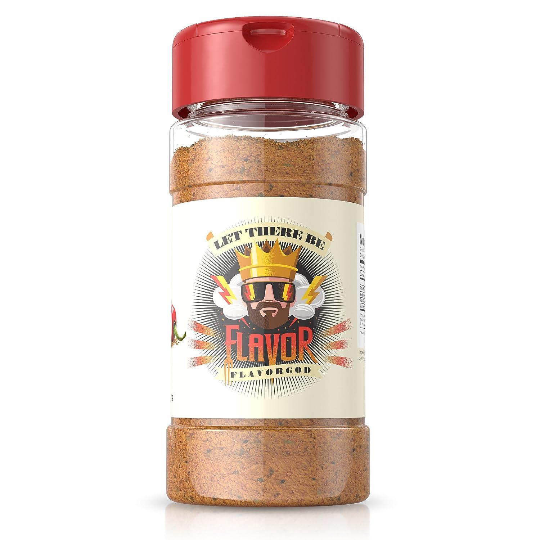 #1 Best-Selling 5oz. Flavor God Seasonings (Spicy Everything Seasoning, 1 Bottle)