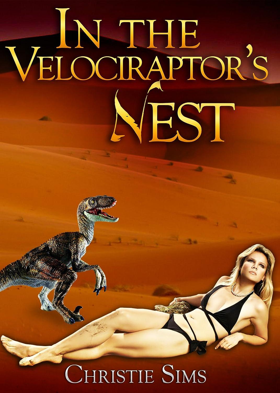 In the Velociraptor's Nest, porn, erotic, dinosaur, Christie Sims, eww