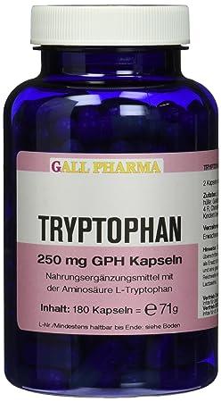 Gall Pharma Tryptophan 250 mg GPH Kapseln 180 Stuck