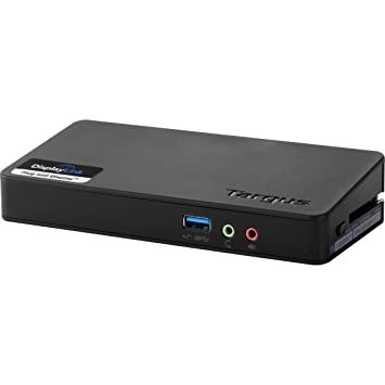 Targus USB 3.0 SuperSpeed Dual Video Docking Station, PC/Mac/MS Surface (except RT)/Windows 8-Tablet/Netbook Compatible (ACP70USZ)