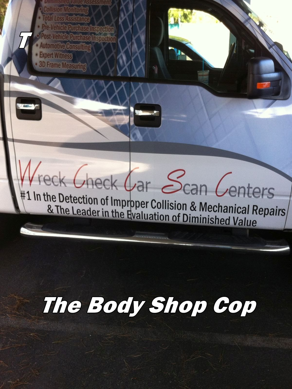The Body Shop Cop