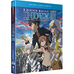 A Certain Magical Index III: Season Three - Part One [Blu-ray]