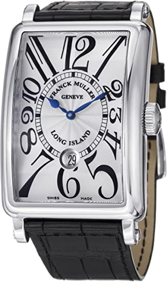 Franck Muller Long Island Date Men's Stainless Steel Automatic Watch 1300 SC DT SS
