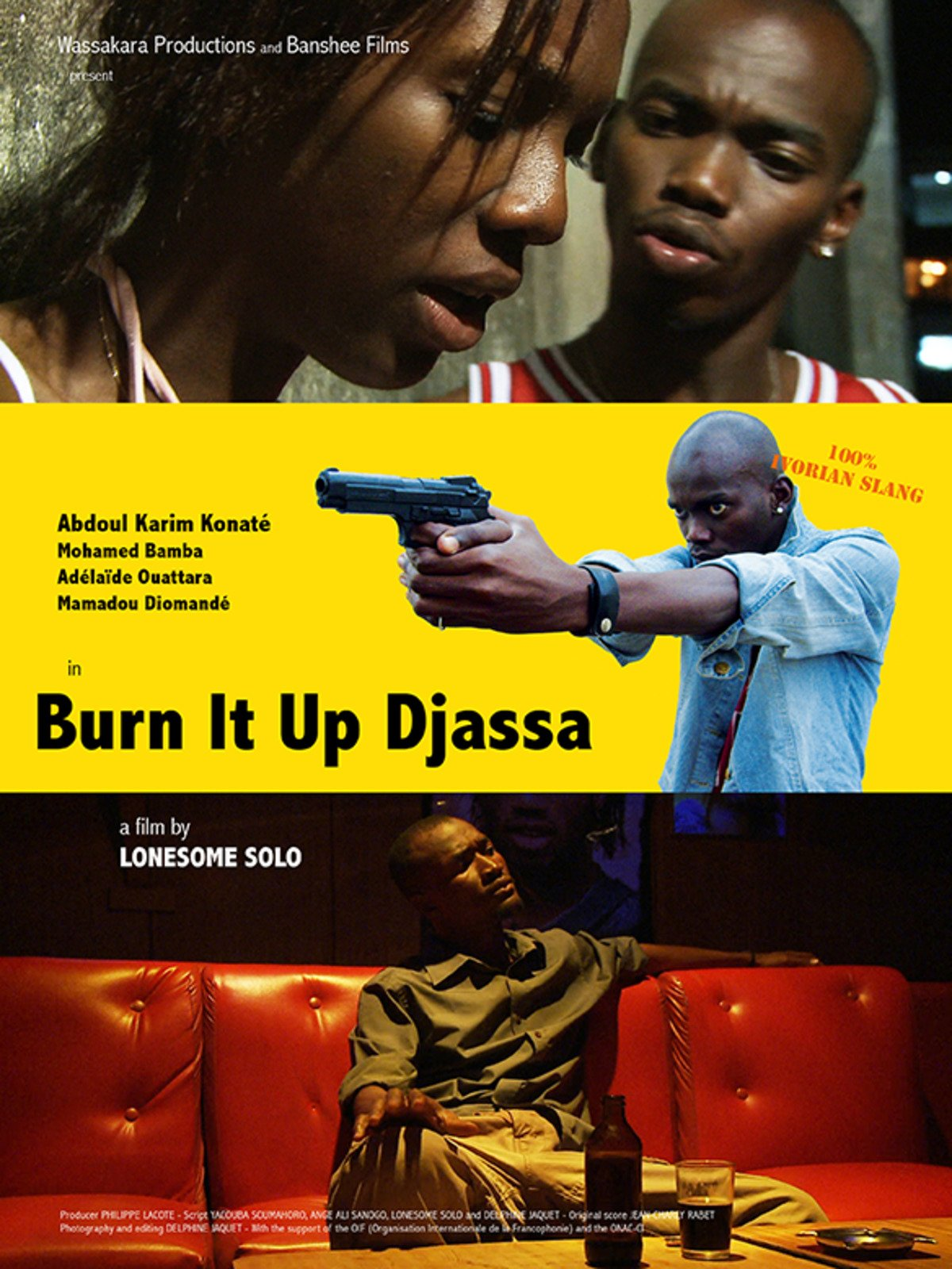 Burn It Up Djassa on Amazon Prime Instant Video UK