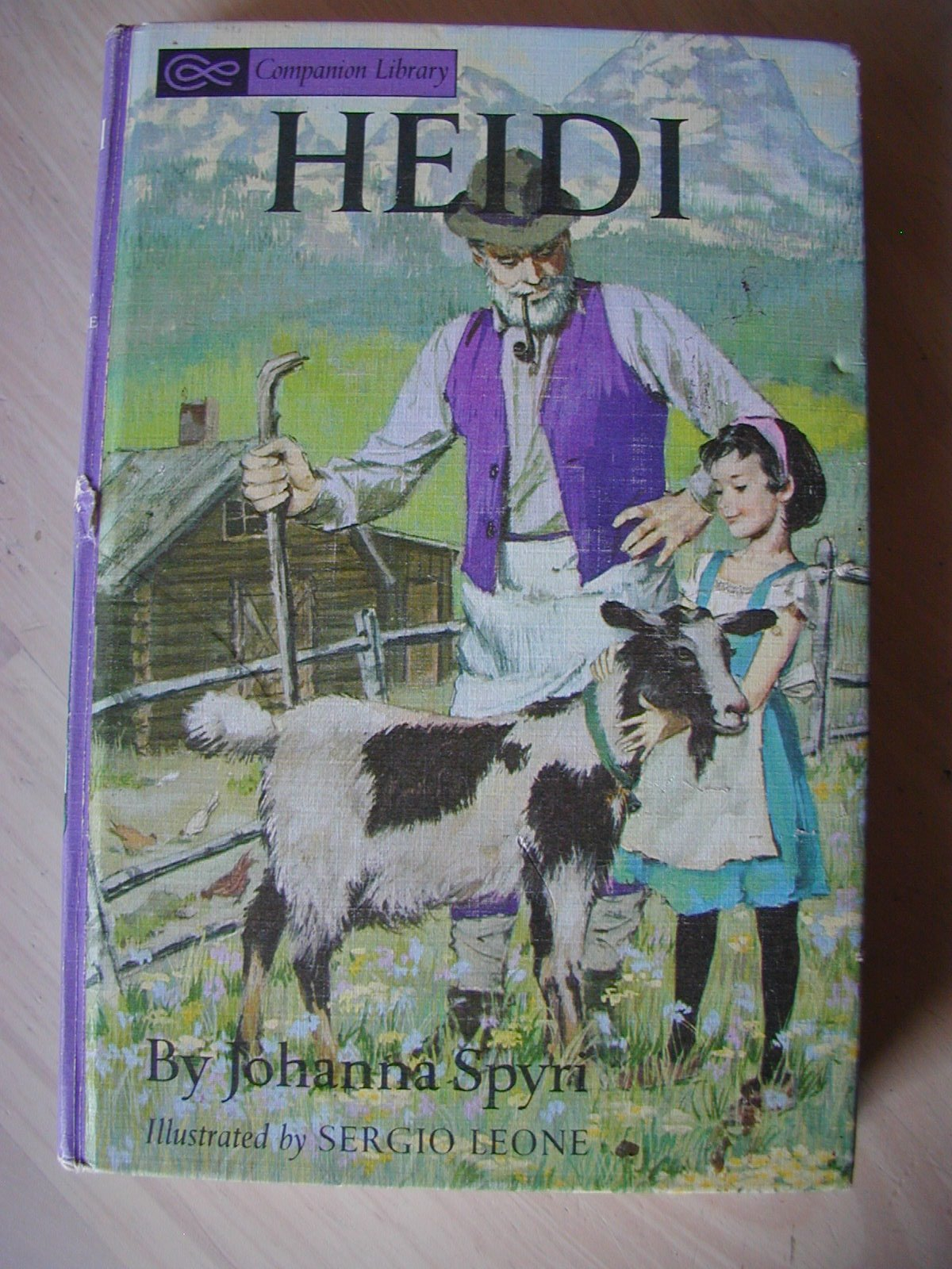 Heidi (Companion Library), Johanna Spyri