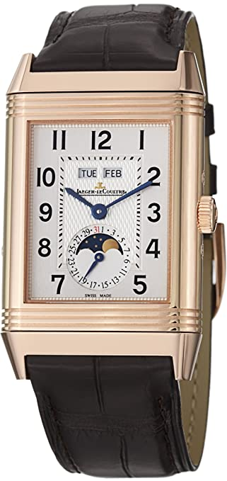 Jaeger-LeCoultre Grande Reverso Calendar Rose Gold Mechanical Watch 3752520