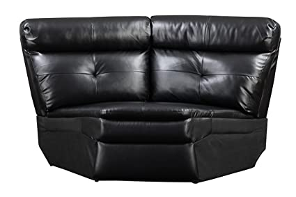 Glory Furniture G573-W Wedge for Sectional Sofa, Black