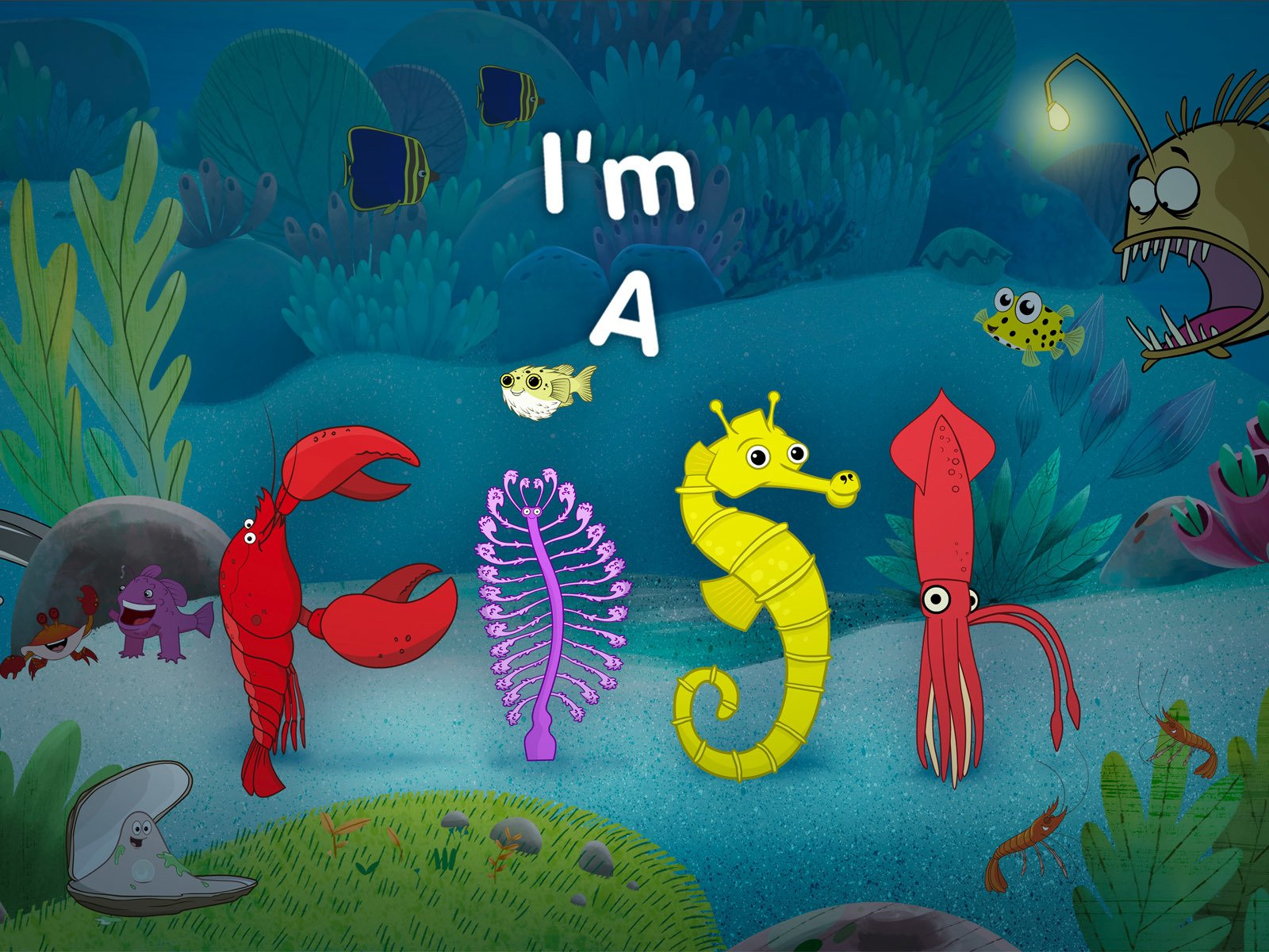 I'm a Fish on Amazon Prime Instant Video UK