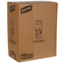 Dixie 2350PATH Pathways Paper Hot Cup, 20 oz Capacity (15 Sleeves of 40)