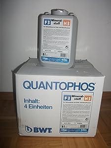 BWT Mineralstoff Cillit Quantophos/Impulsan 4 x 3 l Kanister F4/H4  BaumarktKritiken und weitere Infos