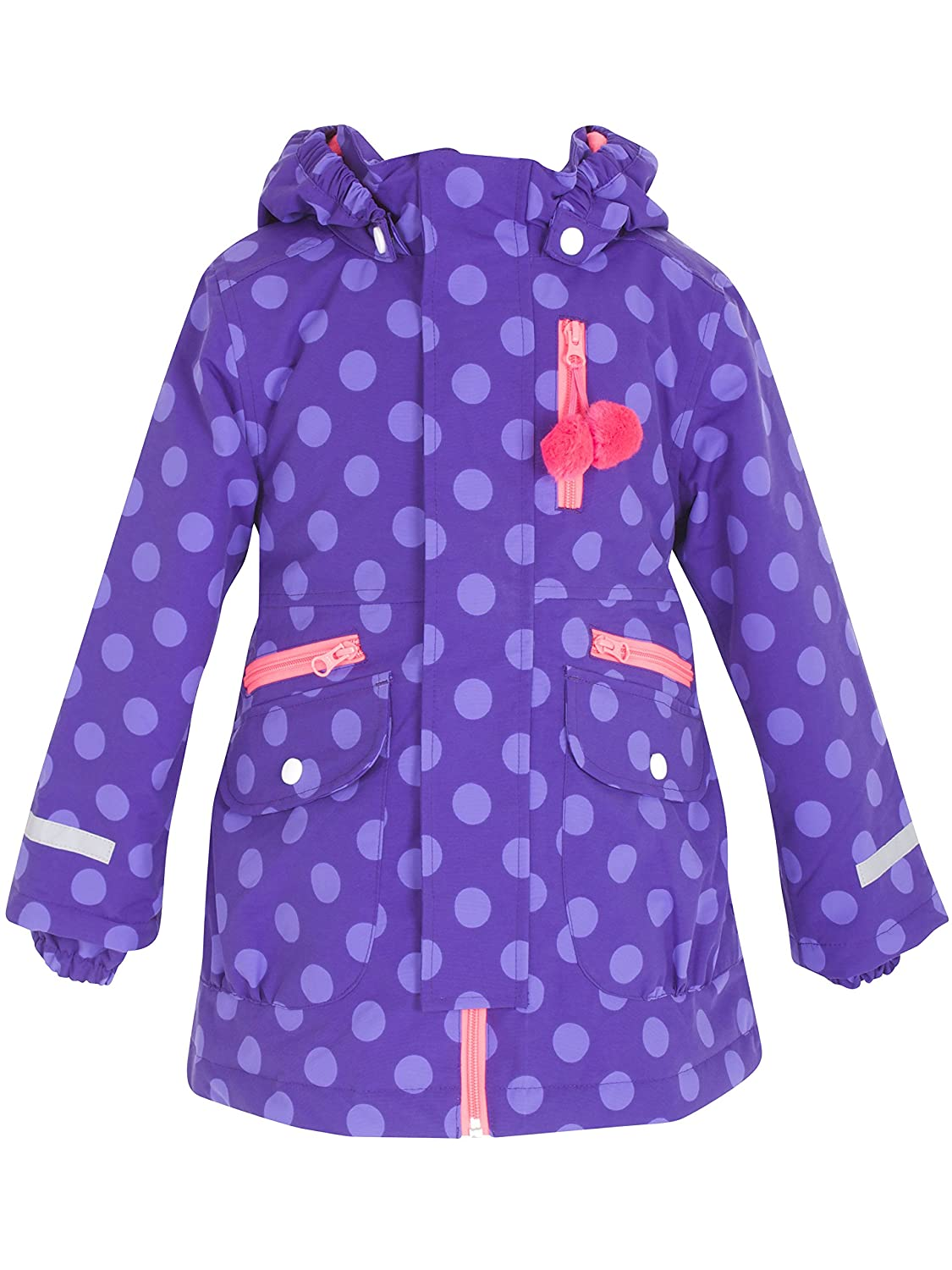 Danefae Girl Outdoor Wintermantel Kristine Mellow Purple/Crys Violet Dots günstig kaufen