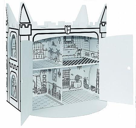 KREUL maison de poupée Villa Carton JOYPAC, en carton ondulé