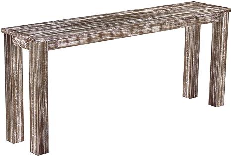 Brasilmöbel hochbank 'rio classico'175 x 38 cm en pin massif teinte look antique