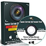 GIMP Photo Editing Software Professional for PC Windows & MAC / Linux | Best Picture Image Editor Photoshop Alternative + Image / Photo Converter Software, Effects & Bonuses (2.8 2018 Version)