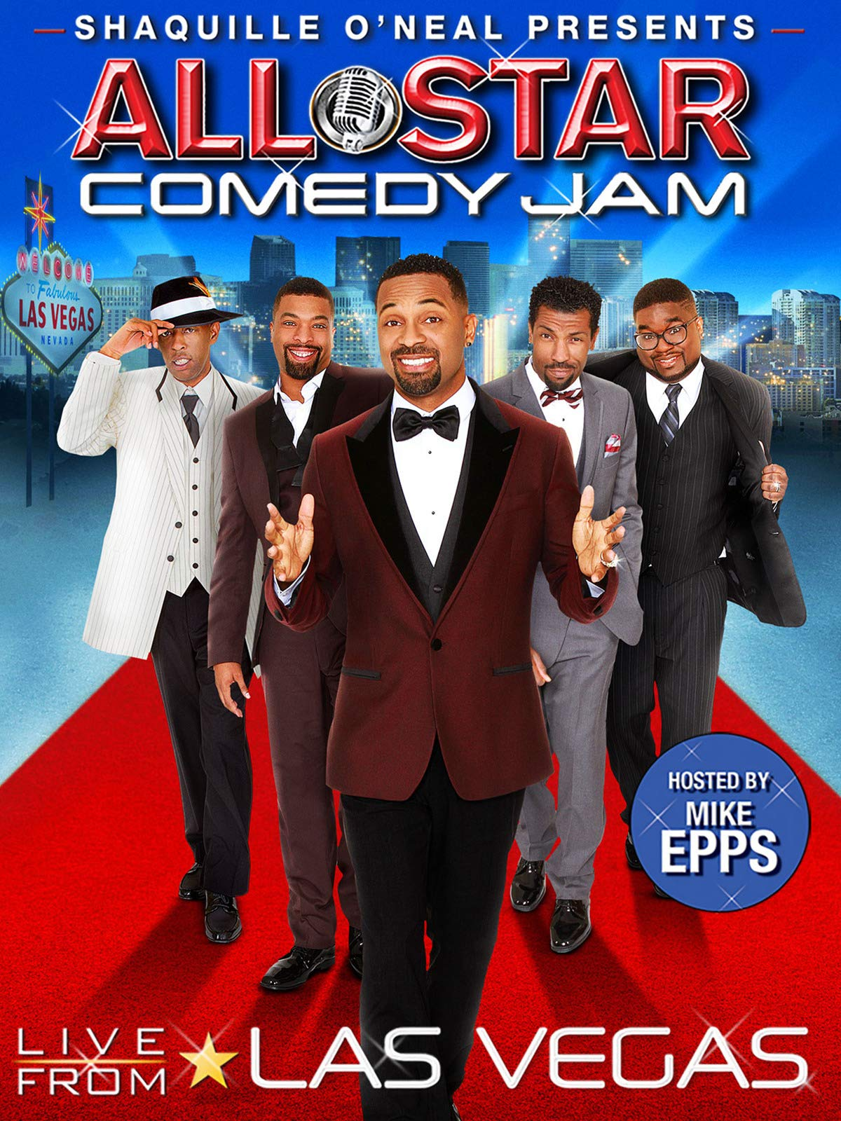 Shaquille O'Neal Presents: All Star Comedy Jam - Live From Las Vegas on Amazon Prime Video UK
