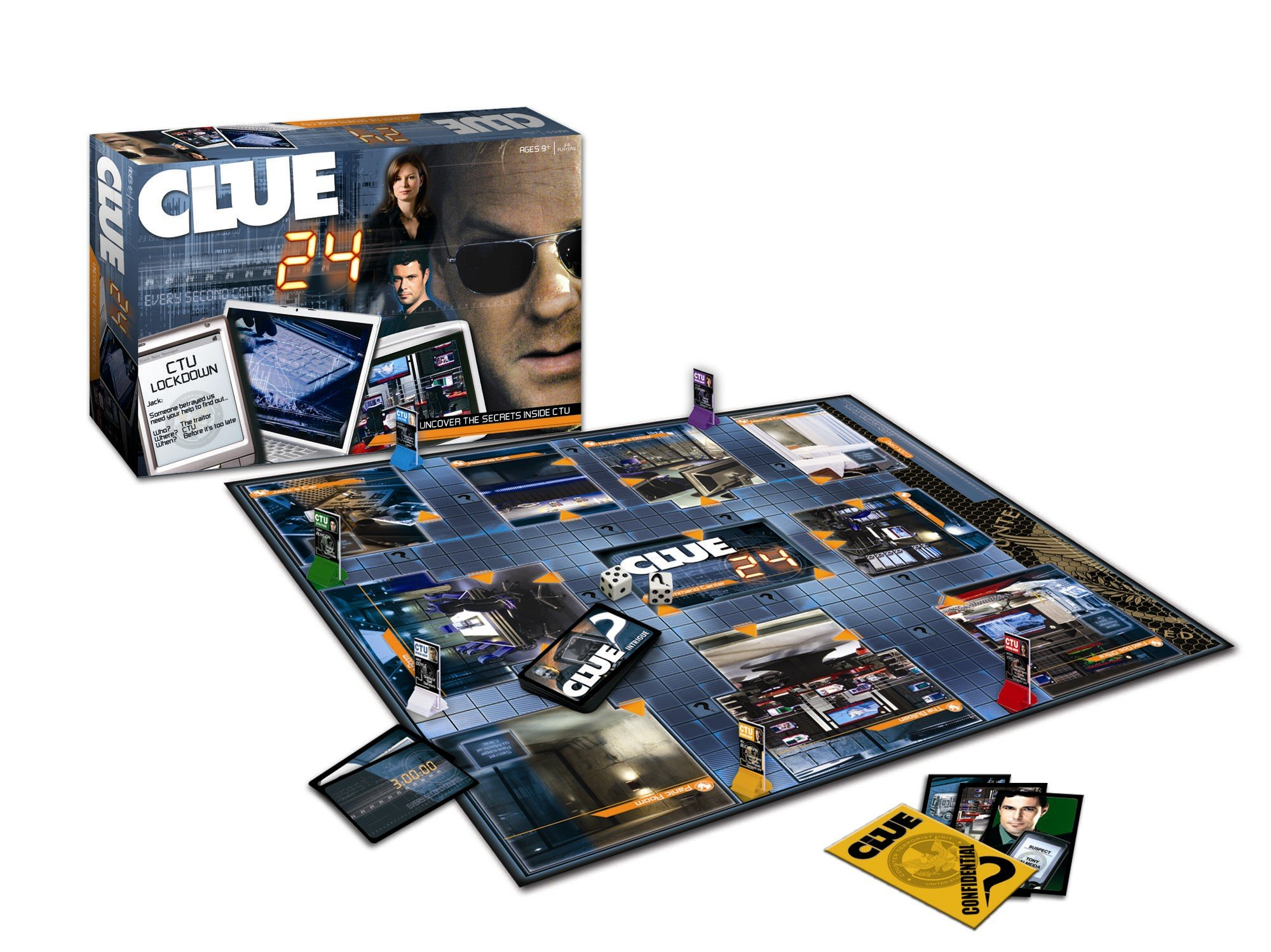 Clue 24 TV Games