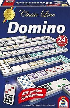Schmidt - 49207 - Jeu de Réflexion - Classic Line - Domino