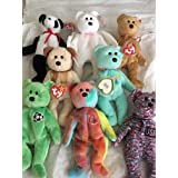 Beanie Baby Bear Collection by Beanie Babies (Color: Multi-Color)