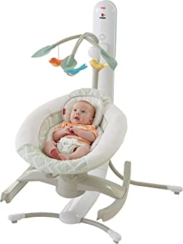 Fisher-Price 4 Motion Cradle 'n Swing