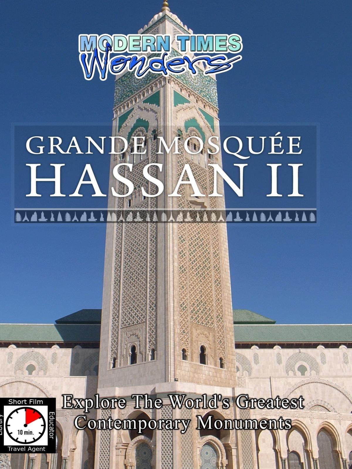 Modern Times Wonders - Grande Mosquee Hassan II, Casablanca, Morocco on Amazon Prime Video UK