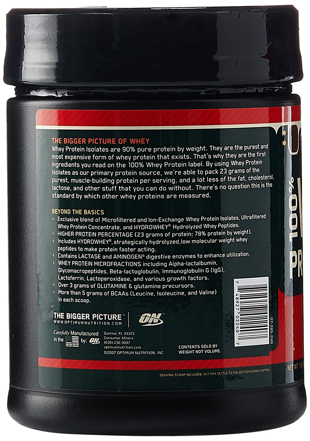ON Whey Gold Standard - 1 lb Double Rich Chocolate