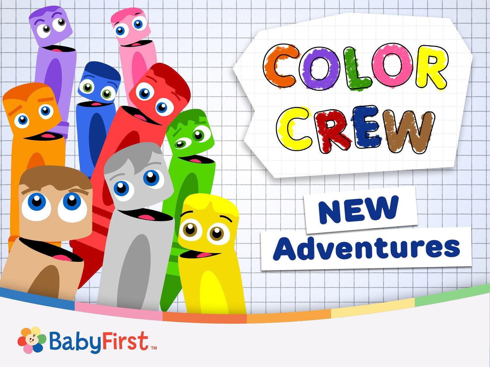 Color Crew New Adventures on Amazon Prime Instant Video UK