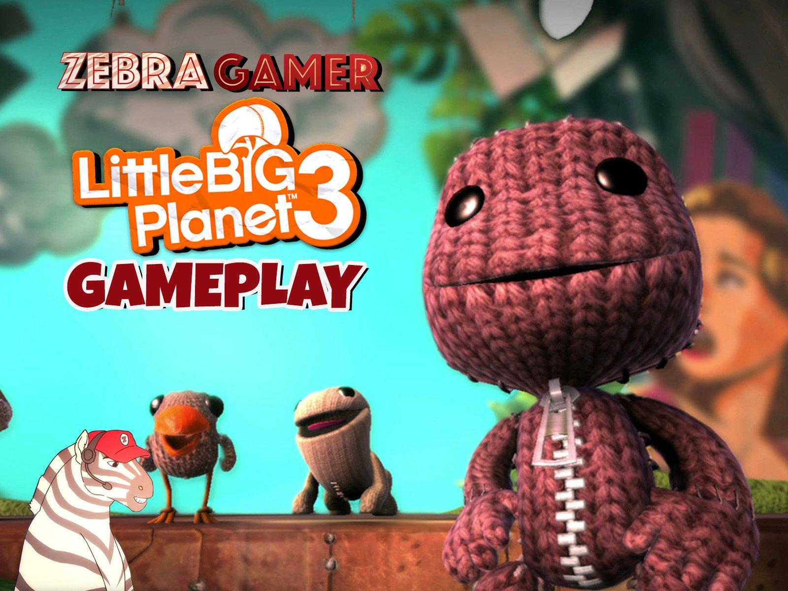 Clip: Little Big Planet 3 Gameplay - Season 1