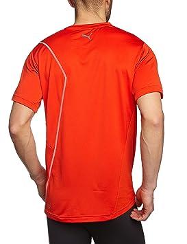 Puma T shirt d'entraînement CT Graphic Cat pour homme Rouge