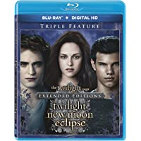 Twilight / New Moon / Eclipse on Blu-ray Digital
