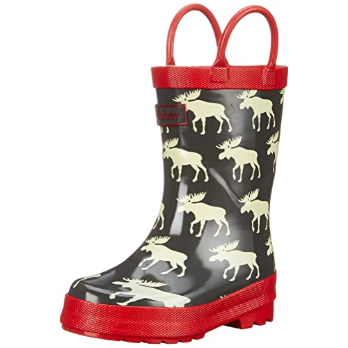Hatley Boys Rainboots Moose
