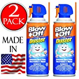 Blow Off General Purpose compressed Air Duster Cleaner, MB-111-229 (3.5 oz) 2-pack (Tamaño: Two 3.5oz Units)
