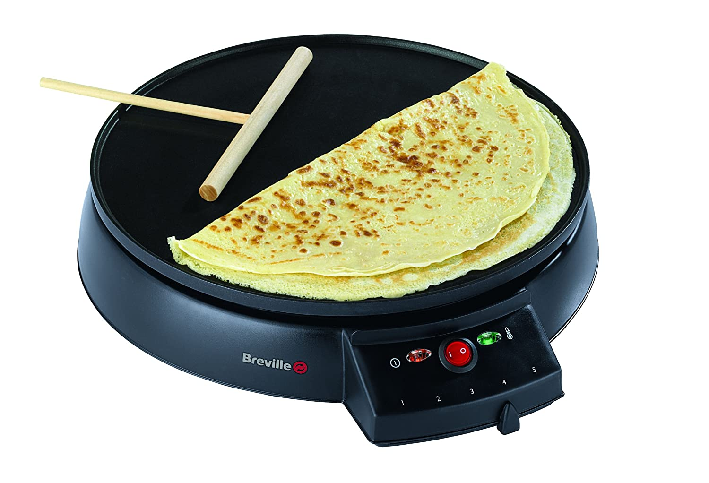 breville crepe pancake maker omelette blinis fried eggs. Black Bedroom Furniture Sets. Home Design Ideas