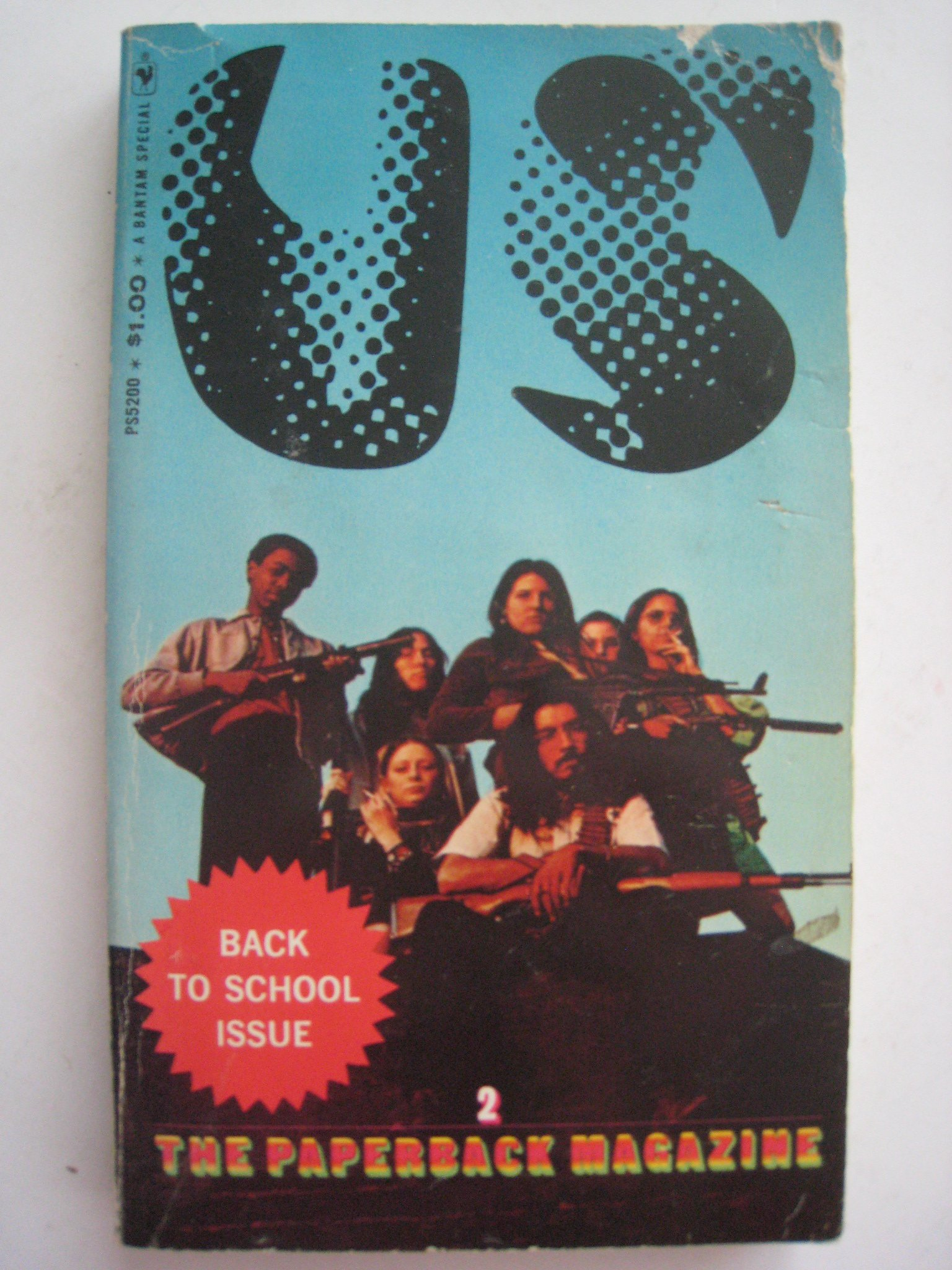 US: A Paperback Magazine #2, Richard Goldstein-Editor