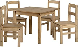 Panama Dining Set In Natural Wax Pine       Customer review and more news