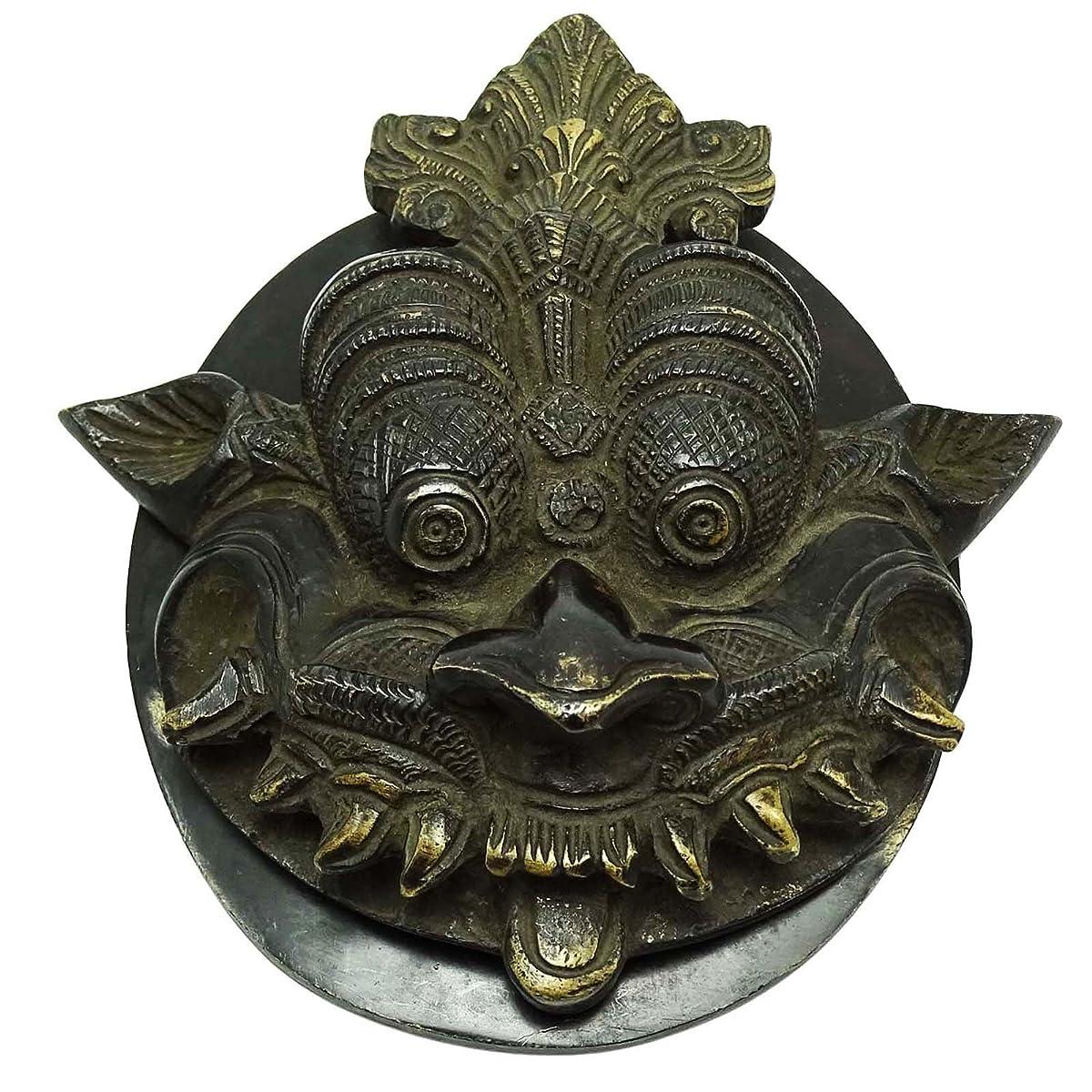 Ethnic Dragon Face Brass Door Knocker Decorative Home Décor Collectibles Gift