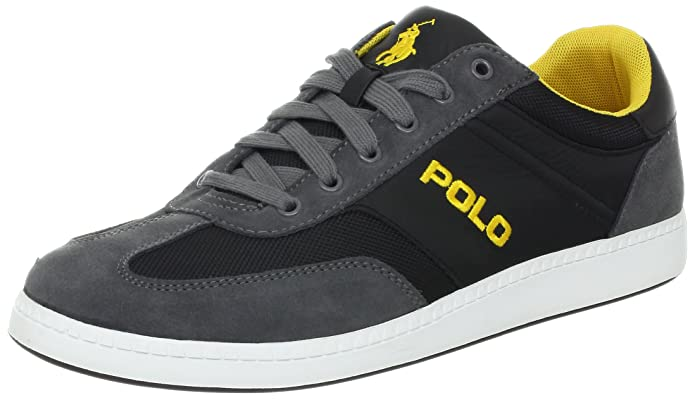 ... Ralph Lauren Leisure Pony Casual Mesh Shoes Black ...