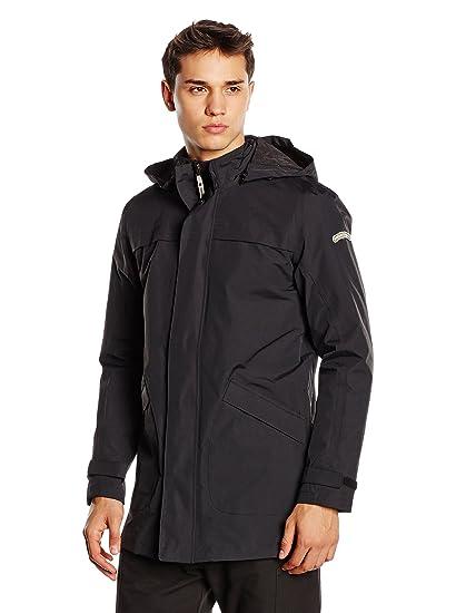 Tucano urbano 8874N9 nYOS 3/4 pour femme-respirant et imperméable length jacket w/noir-taille xXXXL