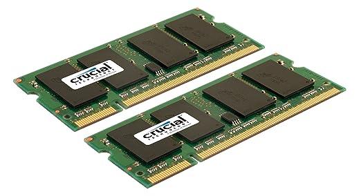 Crucial 8GB Kit 4GBx2 DDR2 667MHz PC2 5300 CL5