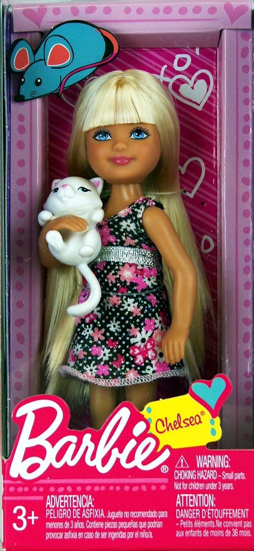 Barbie V0573 – Chelsea im Glitzerkleid mit Kätzchen bestellen