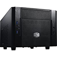 Cooler Master Elite 130 Mini-ITX Computer Case with Mesh Front Panel & Water Cooling Support