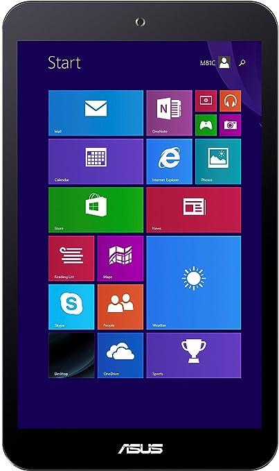 Asus VivoTab 8 M81C-1G008W 20,3 cm (8'') Tablette Tactile (Intel Atom Z3745, 1,3GHz, 1Go RAM, 32Go HDD, Ecran tactile, Win 8) Or (Import Europe)
