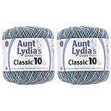 2-Pack - Aunt Lydia Cro Cottn Monet MLTI (154.093)